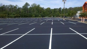Parking lot paving and striping by LinePro Striping Nashville TN
